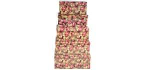 Weihn.Geschenkkarton DY1038-2-6/H641   5tlg Flach Produktbild