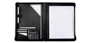 Cartella portadocumenti Alassio CATANA in ecopelle 26x2x31,5 cm A4 nero 30056 Immagine del prodotto