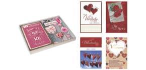 Valentinstagkarte PAPERSTYLE 18-0030 Produktbild