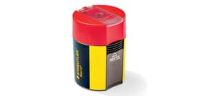 Dosenspitzer Noris gelb/schwarz STAEDTLER 511004 rund Produktbild