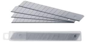 Ersatzklinge 9mm 10ST silber Produktbild