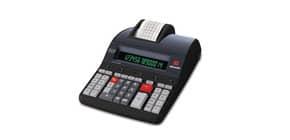 Calcolatrice scrivente da tavolo 10 linee/secondo OLIVETTI Logos 914T display LCD a 14 cifre nero - B5898 000 Immagine del prodotto