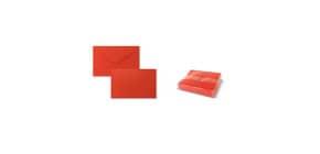"""Biglietti con busta Ellebi - Sadoch Dresda """"formato 9"""" 9x14 cm rosso Conf. 100 pezzi - 8319R Immagine del prodotto"""