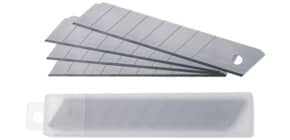 Lame di ricambio Westcott 18 mm argento  Conf. 10 pezzi - E-84008 00 Immagine del prodotto