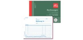 Rechnungsbuch A6q 2x50BL KleinUN Produktbild