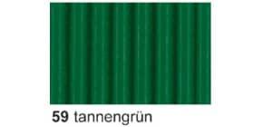 Bastelwellpappe  tannengrün Produktbild