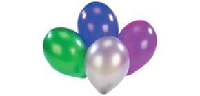 Luftballon metallic D90cm 6436  8ST Produktbild