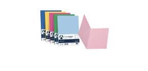 Cartellina semplice FAVINI FOLDER S cartoncino Simplex Luce&Acqua 200 g/m² 25x34cm mix 5 colori  conf.50 - A50X664 Immagine del prodotto