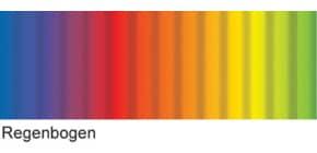Bastelwellpappe Regenbogen Produktbild