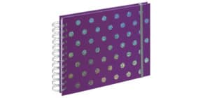 Fotospiralbuch Twinkle lila Produktbild