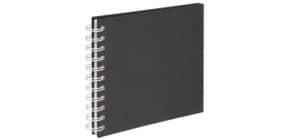 Fotospiralbuch Fine Art schwarz Produktbild