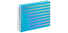 Fotospiralbuch Flashy blau Produktbild