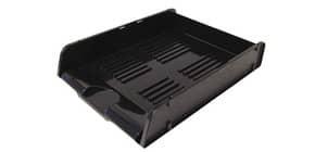 Portacorrispondenza ARDA Classic polistirolo atossico nero opaco per fogli fino a 24x32 cm - 25310N Immagine del prodotto