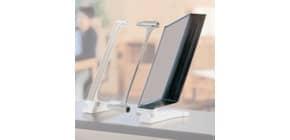 Kit leggìo Q-Connect Quickfind: modulo di estensione con base supporto grigio chiaro + 10 pannelli A4 - KF06006 Immagine del prodotto