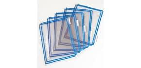 Buste per leggio Tarifold® T-Technic A4 blu - PVC bordo rinforzato Conf. 10 pezzi - 114001 Immagine del prodotto