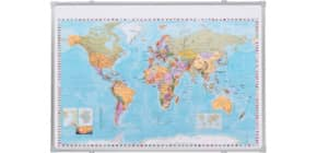 Kartentafel Weltkarte Produktbild