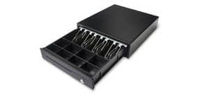 Cassetto portadenaro Holenbecky 350x405x90 mm in acciaio nero 3439 Immagine del prodotto