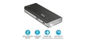 Caricabatterie portatile Powerbank 10000 Trust Primo nero 21149 Immagine del prodotto
