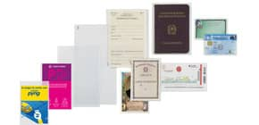 Buste trasparenti a sacco FAVORIT Upocket liscia superior 5,4x8,5 cm conf. da 100 - 400102316 Immagine del prodotto