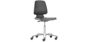 Arbeitsdrehstuhl ohne Armlehnen schwarz/grau BIMOS 20016050 Produktbild