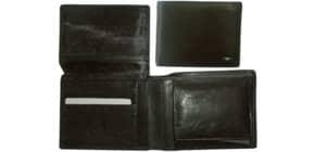 Geldbörse Leder schwarz Produktbild