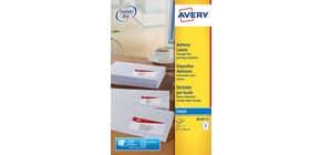 Etichette bianche per indirizzi per buste AVERY 63,5 x 38,1 mm 25 fogli - J8160-25 Immagine del prodotto
