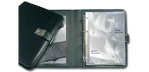 Dokumentenmappe Leder schwarz Produktbild