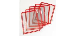Buste per leggio Tarifold® T-Technic A4 rosso - PVC bordo rinforzato Conf. 10 pezzi - 114001 Immagine del prodotto