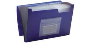 Fächertasche blau 13 teilig Q-CONNECT KF01275 Produktbild