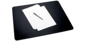 Schreibunterlage Lederim dgrau/sw Produktbild