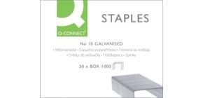 Punti per cucitrice Q-Connect No. 10 acciaio zincato scatola da 1000 punti - KF01281 Immagine del prodotto