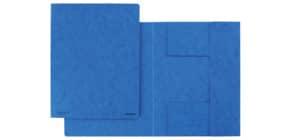 Dreiflügelmappe A4 blau Produktbild