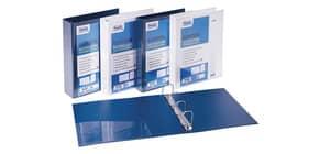 Raccoglitore personalizzabile FAVORIT Europa 29,5x32 cm 4 anelli a Quadri Ø 65 mm bianco - 100460471 Immagine del prodotto