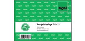 Kassen Ausgabebeleg A6q rosa SIGEL AG615 50BL Produktbild