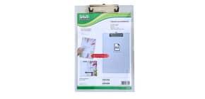 Tavoletta portablocco Lebez A4 trasparente per doppia lettura 7725 Immagine del prodotto