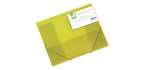 Cartellina a 3 lembi Q-Connect A4 ppl dorso 3 cm giallo KF15449 Immagine del prodotto