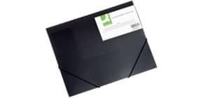 Dreiflügelmappe  schwarz Produktbild