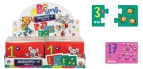 Minipuzzle Zahlen 42tlg. TRENDHAUS 952325 ABC Spass Produktbild