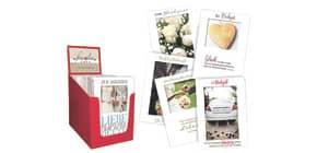 Passepartoutkarte Hochzeit sortiert 42091002 Produktbild