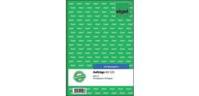 Auftragsbuch A5/2x50BL SIGEL AU525 Produktbild
