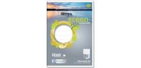 Oktavheft A6 32Bl Lin52 kar. URSUS 040726052 Green Pure 80g Produktbild