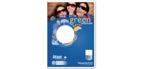 Vokabelheft A5 32BL Lin53 URSUS 040731053 Green Pure 80g Produktbild