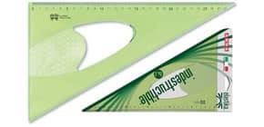 Squadra ARDA Linea Elastika plastica flessibile verde trasparente 60° cm 30 EL6030 Immagine del prodotto