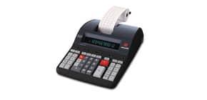 Calcolatrice scrivente da tavolo 3,6 linee/secondo OLIVETTI Logos 912 con display LCD a 12 cifre nero - B5897 000 Immagine del prodotto