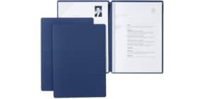 Bewerbungsmappe Stream blau Produktbild