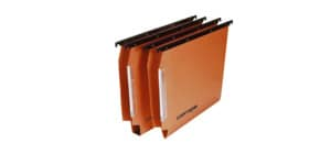 Cartelle sospese laterali per armadi CARTESIO 33 cm fondo a V arancio Conf. 50 pezzi - 114 F BETA - B2 Immagine del prodotto