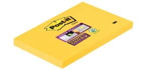 Foglietti riposizionabili Post-it® Super Sticky Notes 7,6x12,4 cm 90 ff giallo oro - 655-S Immagine del prodotto