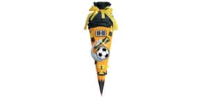 Schultüte Bastelset Soccer gelb ROTH 658025   68 cm Produktbild