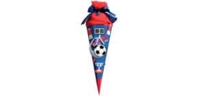 Schultüte Bastelset Soccer rot ROTH 658026   68 cm Produktbild