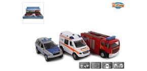 Fahrzeug Rescue Team sortiert 510590 Licht & Sound Produktbild
